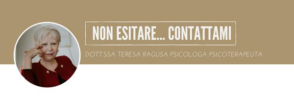 Dott.ssa Teresa Ragusa Psicologa Psicoterapeuta Osimo Ancona - Aver paura di essere abbandonati - Vuol dire avere instaurato un legame affettivo e provato il dolore della perdita.